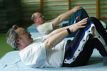 Ćwiczenia na drabinkach