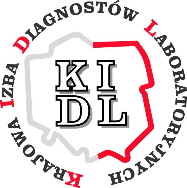 Logo Krajowej Izby Diagnostów Lab.